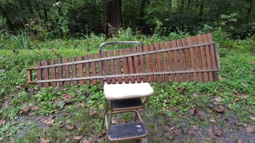 Patent 1919 Deagan Xylophone 30 Wood Bars Coin Op Nickelodeon Theatre Organ Part
