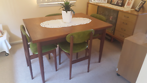 Vintage dining table and chairs Cartwright Liverpool Area Preview