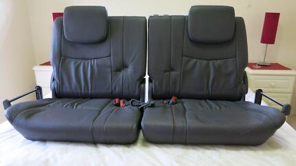 Toyota 2003 Prado Grande rear car seats