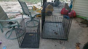 portable pet kennels 25 -40$
