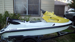 Jet ski trailer with free jet ski needs work New Lambton Newcastle Area Preview