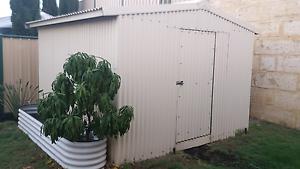 Garden shed 3x3 cream Leda Kwinana Area Preview