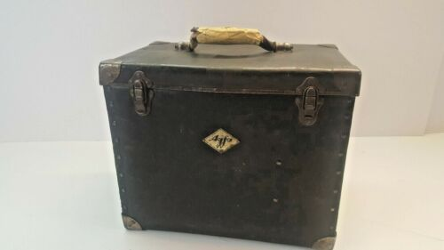 Large Antique  Vintage Agfa Photo Negative and Film Travel Case