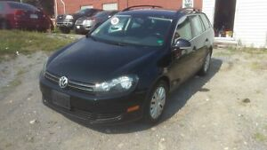 2010 Volkswagen Golf Trendline Wagon Automatic, Off lease from V