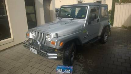 2004 MY05 Jeep Wrangler Renegade + Accessories URGENT West Lakes Charles Sturt Area Preview