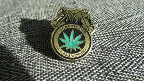 Cannabis Workers Lapel Pin International Brotherhood of Teamsters Trade Union