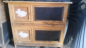 Double & Single Storey Rabbit Hutches Victor Harbor Victor Harbor Area Preview
