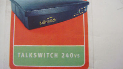 Talkswitch 240 Vs 7.11 Pbx 30 Days Warranty Lqqk