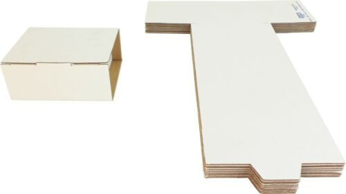 (10) CD Shipping Mailers - Fold Up Cardboard Boxes Storage Retail #CDBC06DC