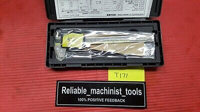 New Mitutoyo Japan Made 6 Inch Absolute Digital Calipermachinist Tool T171