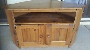 Solid tv cabinet Ariah Park Temora Area Preview