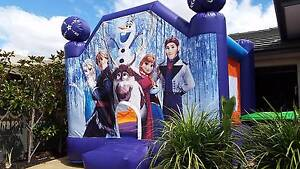 FROZEN CARS DISNEY PRINCESS SPIDERMAN BOUNCING JUMPING CASTLES Melton Melton Area Preview
