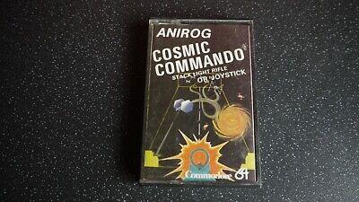 commodore 64 cosmic commando game
