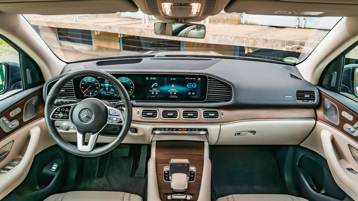 Mercedes-Benz GLE Cockpit