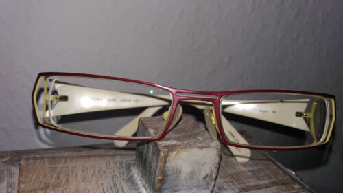JF Rey Brillengestell Titanium in rot/gelb/weiß Damen mit Etui