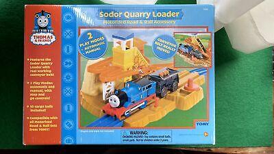 Thomas the Train Friends 2005 TOMY 7544 Sodor Quarry Loader Set New Open Box