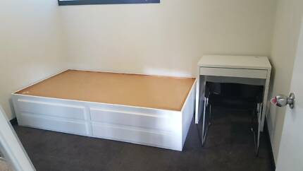 king single bed base