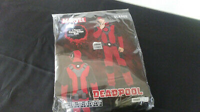 Marvel Deadpool Deluxe Adult Mens Costume Size Large