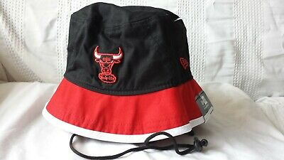 CHICAGO BULLS Windy City throwback New Era mens XL bucket hat ($29.99 tag price)