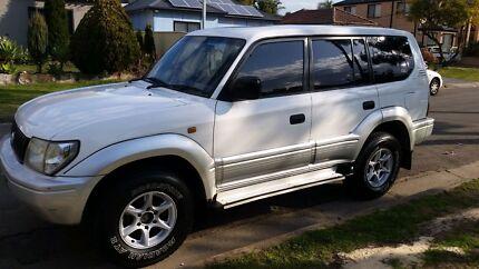 Toyota Pardo landcruiser,  turbo diesel  Parramatta Parramatta Area Preview