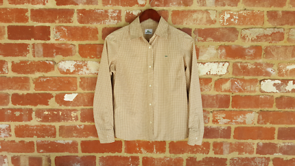 Lacoste Gingum Button UP Shirt - 40