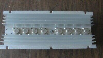 Eight 2n6259 Transistors On A Large Heatsink