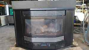Gas apace heater log fire look Ultimate by Supertron excellent