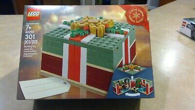LEGO 40292 Christmas EXCLUSIVE present Limited Edition Max HTF Sealed NEW NIB