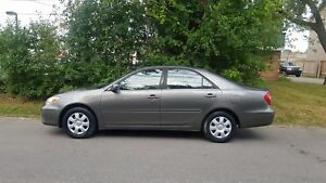 2002 Toyota Camry LE AUTO LOADED LOW KMS CERTIFIED $4975