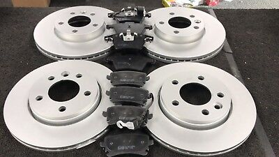 FOR VW TRANSPORTER T5 1.9 2.5 FRONT AND REAR VENTED BRAKE DISCS PAD PADS 03-09