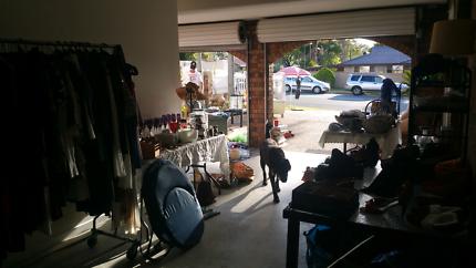 GARAGE SALE TODAY