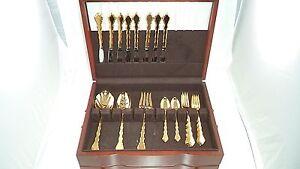 Oneida Gold Plated Flatware Ebay