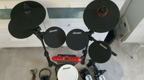 Carlsbro CSD130 R-PLUS Electric Drum Kit 8 Piece USB with CSS3 Stool and DCN2
