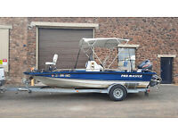 99 SPRINT PRO MASTER CENTER CONSOLE BASS FISHING BOAT PROMASTER TOURNAMENT 115hp