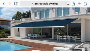 BRAND NEW RETRACTABLE AWNING