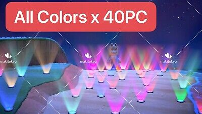 Switch Animal Crossing New Horizons/Floor Light x 40(8 Colors Each x 5)
