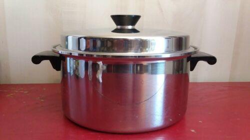 Vtg Duncan Hanes by Regal Ware 6 QT 3 ply 18-8 Stock Pot Dutch Oven