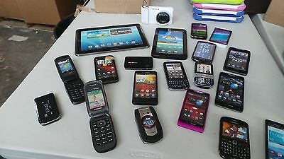 Lot of 55 Cell Phone tablets  Dummies Display Phones Look Real Parts Name Brands
