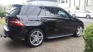 2013 Mercedes-Benz ML500 (4x4) 4.7L T/Turbo Wagon - 7SP AUTOMATIC Waratah Newcastle Area Preview