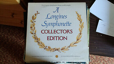 A Longines Symphonette Collector's Edition record