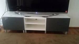 TV Unit in grey and white Sylvania Sutherland Area Preview