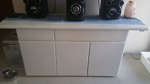 White sideboard / buffet / entertainment unit Little Bay Eastern Suburbs Preview