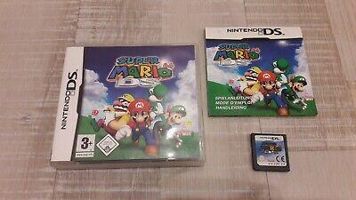Jeu Super Mario 64 - Nintendo DS 3DS - Complet FR