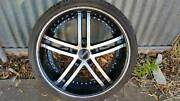 Commodore Wheels tyres staggered Gawler Gawler Area Preview