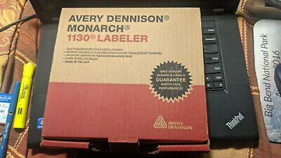 Avery Dennison Monarch 1130 Labeler New--fast Shipping