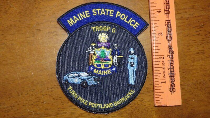 MAINE STATE POLICE TROOP G TURN PIKE PORTLAND MAINE BARRACKS MAINE STATE TROOPER