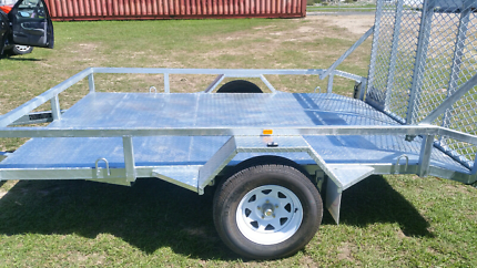 Mower  trailer for HIRE