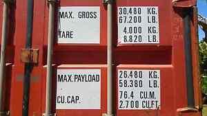 Shipping container Malanda Tablelands Preview