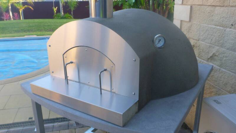 drysdale wood fired pizza ovens diy kit australian made and owned