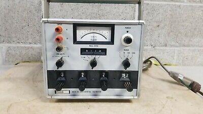 Vintage Fluke 891a Ac Dc Differential Volt Meter Works